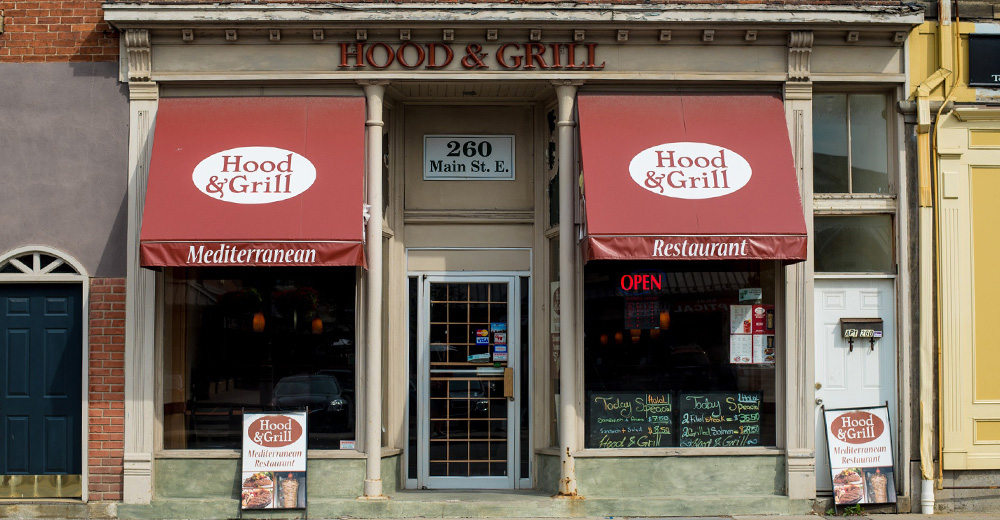 Hood and Grill