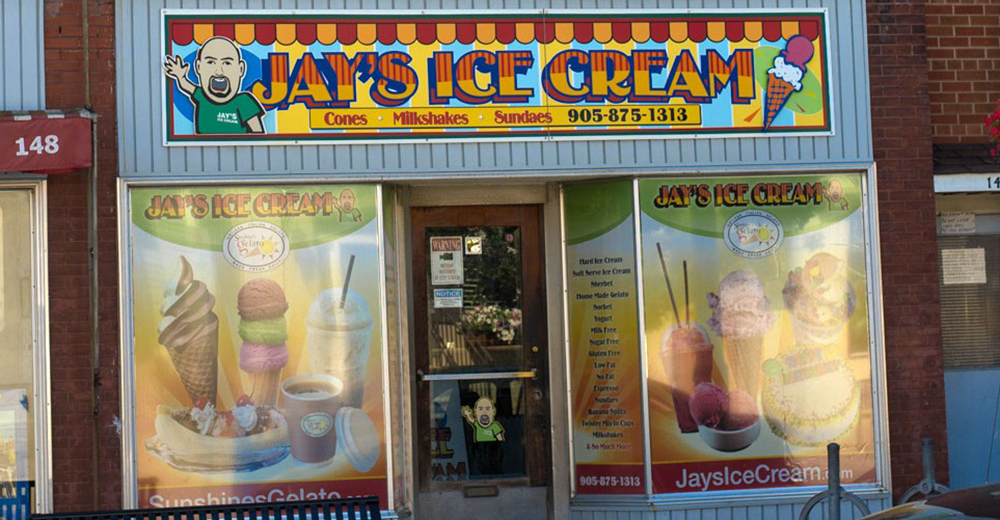 Jay's Ice Cream & Sunshine Gelato