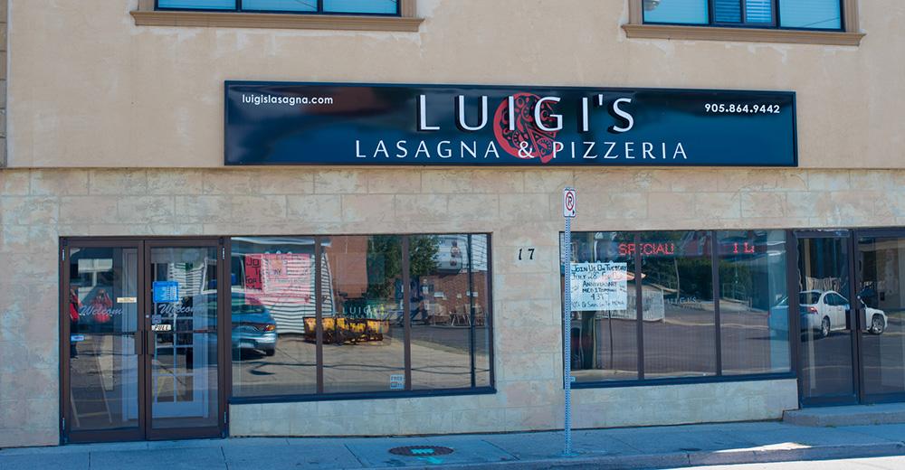 Luigi's Lasagna & Pizzeria