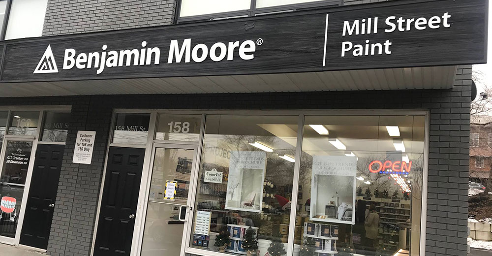 Mill Street Paint Storefront