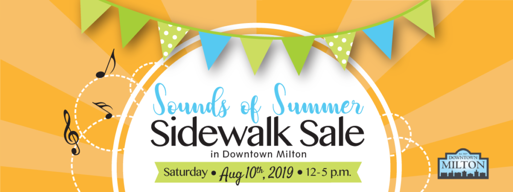 The Sounds of Summer Sidewalk Sale is back!