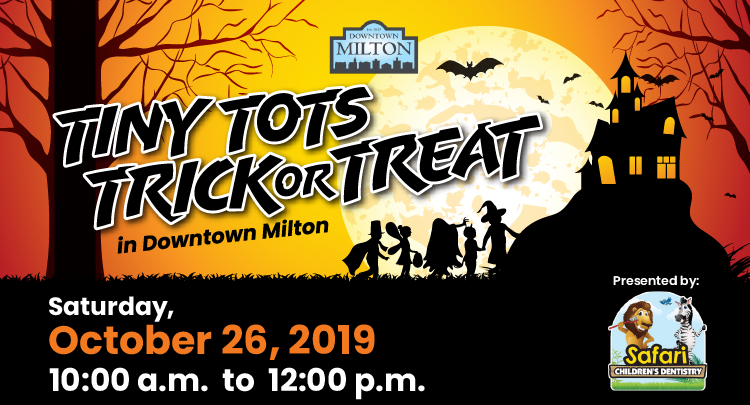 Tiny Tots Trick or Treat 2019