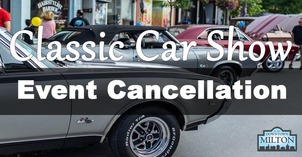 2020 Car Show Cancelled
