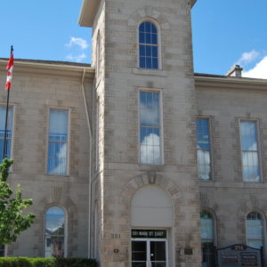 A Photo of the Old Town Hall in Milton Ontario